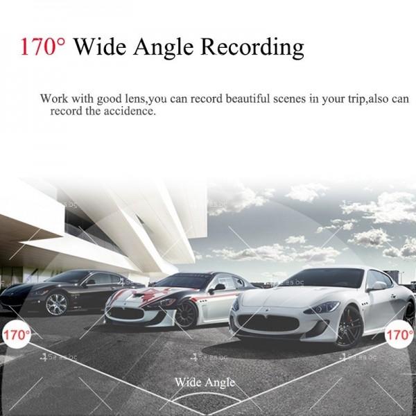 WI-FI мини сферична автомобилна камера, 170 градусов ъгъл и нощен запис AC79 21