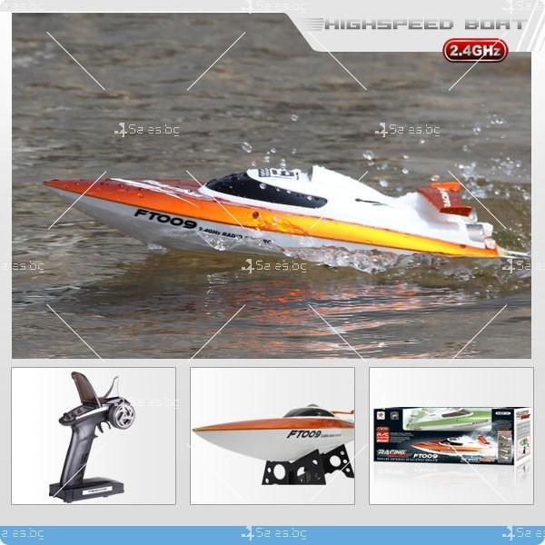 Високоскоростна лодка с безжично управление Speed Boat2 1