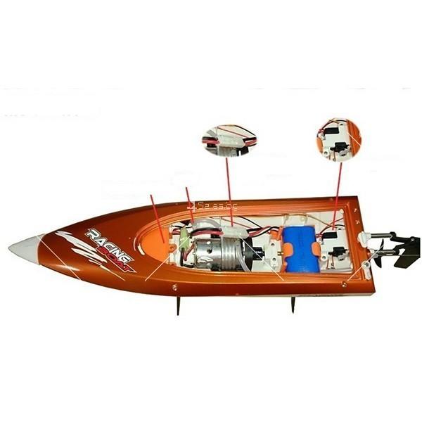 Високоскоростна лодка с безжично управление Speed Boat2 3