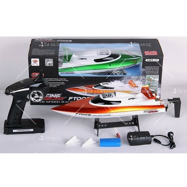 Високоскоростна лодка с безжично управление Speed Boat2 7