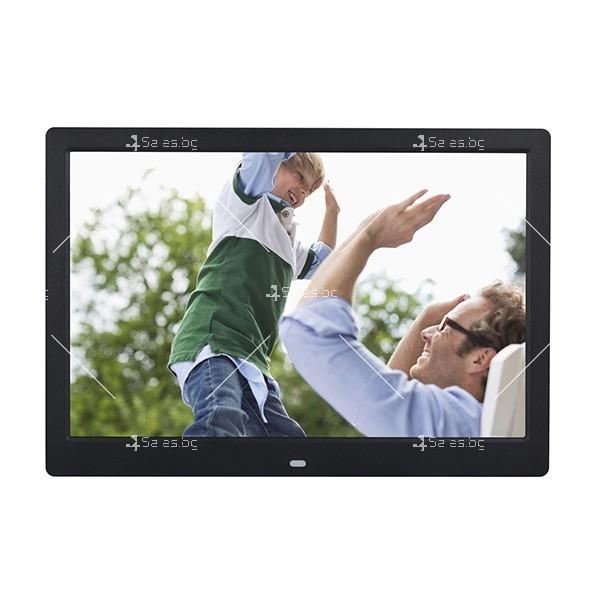 Дигитална LCD фото рамка с дистанционно управление - 13 инча FotoRam13 1