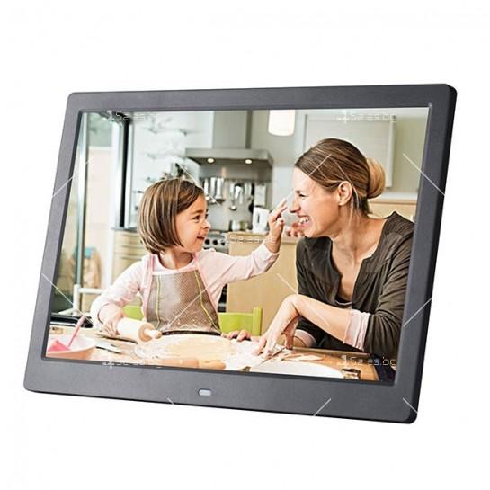 Дигитална LCD фото рамка с дистанционно управление - 13 инча FotoRam13