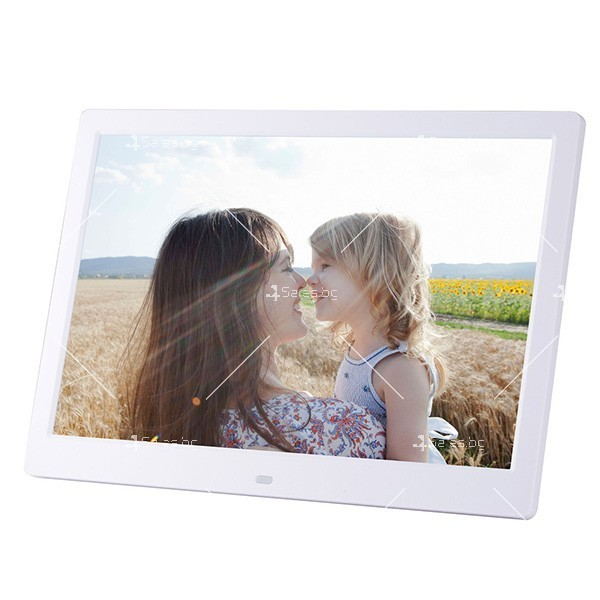 Дигитална LCD фото рамка с дистанционно управление - 13 инча FotoRam13 4