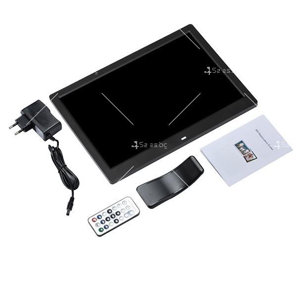 Дигитална LCD фото рамка с дистанционно управление - 13 инча FotoRam13 14