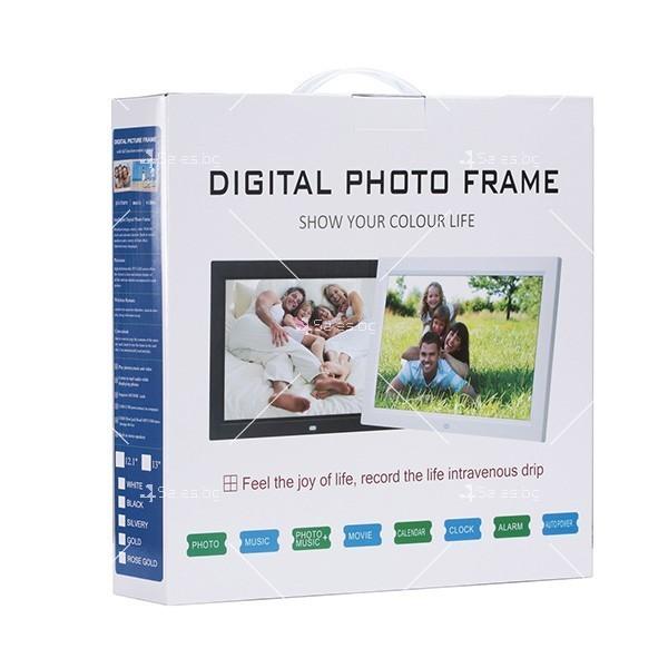 Дигитална LCD фото рамка с дистанционно управление - 13 инча FotoRam13 15