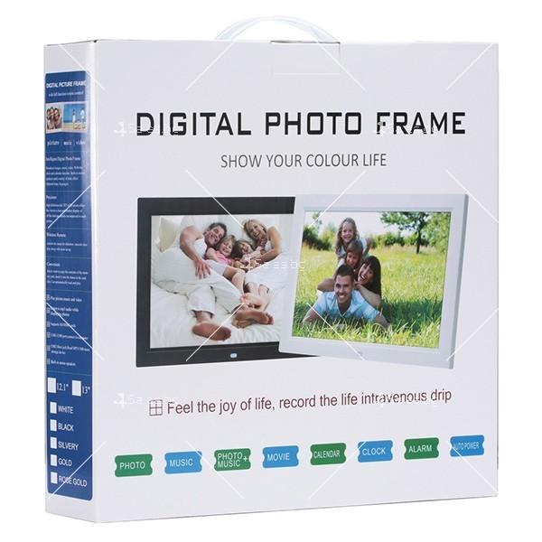 Дигитална LCD фото рамка с дистанционно управление - 13 инча FotoRam13 18