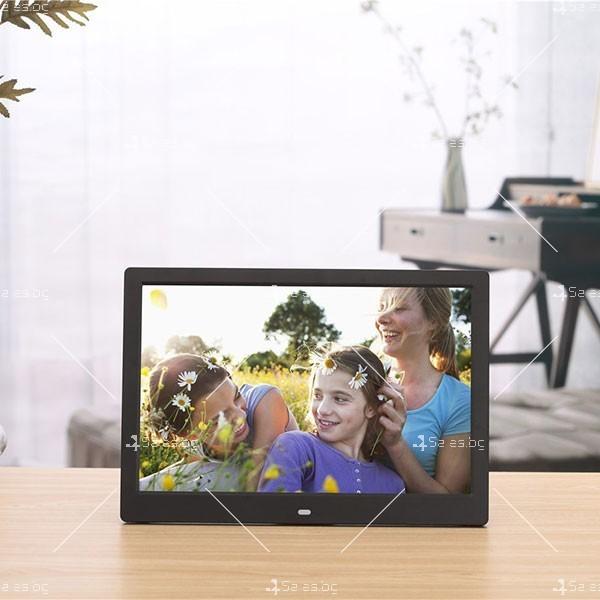 Дигитална LCD фото рамка с дистанционно управление - 13 инча FotoRam13 21