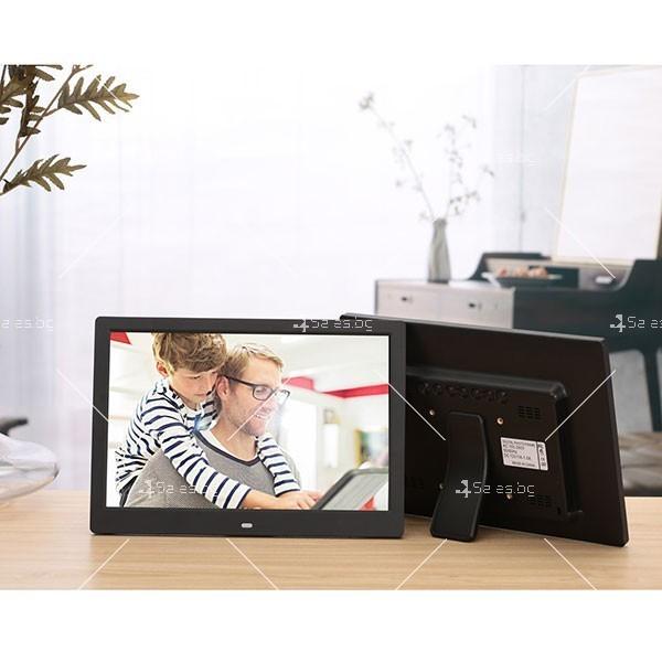Дигитална LCD фото рамка с дистанционно управление - 13 инча FotoRam13 22