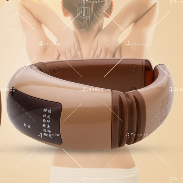 Цервикален масажор за врат, кръст и рамене с дистанционно TV144 1