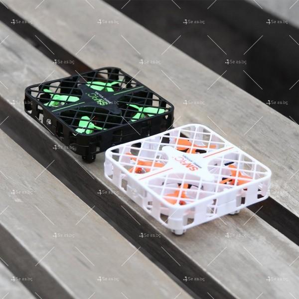 Мини дрон с пълна протекция на перките и камера с видео в реално време M8S 7