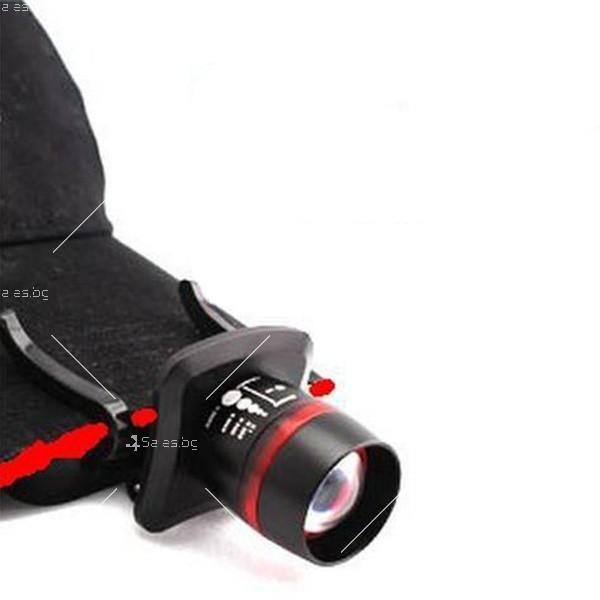 Подвижно фенерче за глава или колан подходящо при катерене или риболов FL16 1