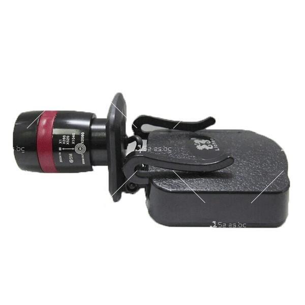 Подвижно фенерче за глава или колан подходящо при катерене или риболов FL16 2