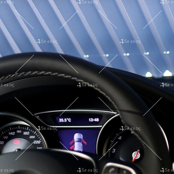 Слънцезащитна трансперанта за стъклото на колата,сгъваема SHAD2 2