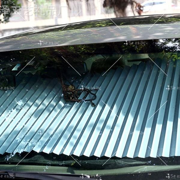 Слънцезащитна трансперанта за стъклото на колата,сгъваема SHAD2 4
