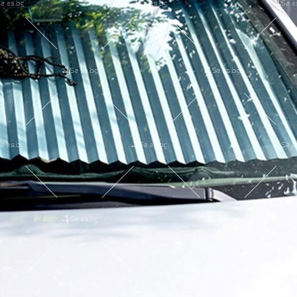 Слънцезащитна трансперанта за стъклото на колата,сгъваема SHAD2 5