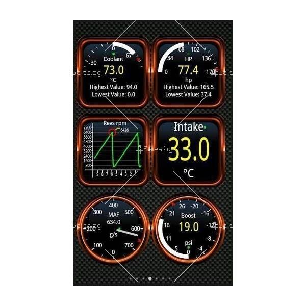 Мини Bluetooth OBD 2 уред за автомобилна диагностика AutoScan5 3