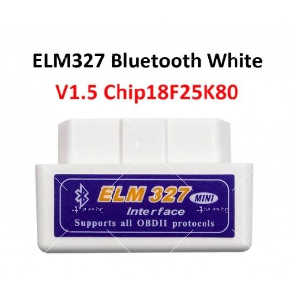 Мини Bluetooth OBD 2 уред за автомобилна диагностика AutoScan5 8