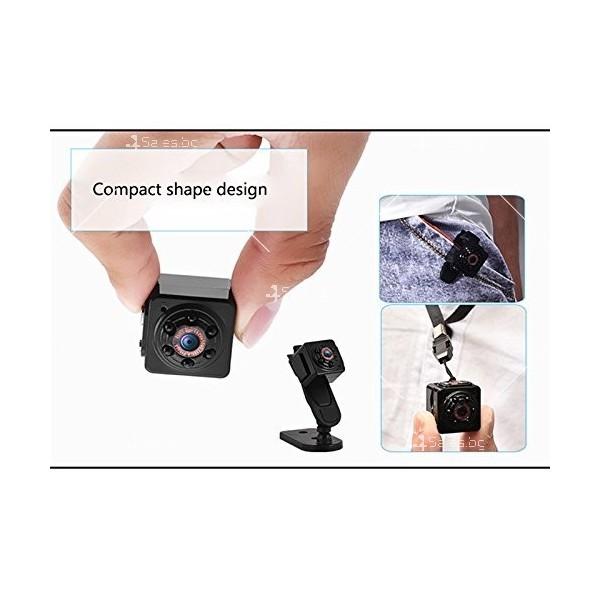 Портативна мини камера с 1080Р резолюция и подобрени нощни снимки SC14 1
