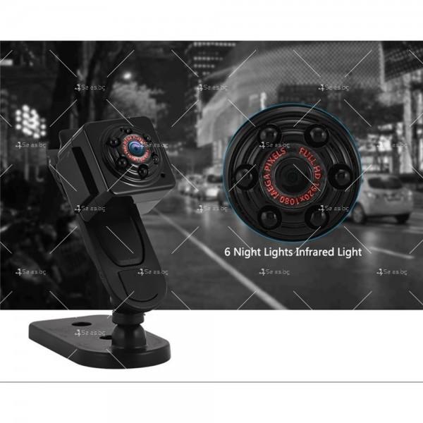 Портативна мини камера с 1080Р резолюция и подобрени нощни снимки SC14 3
