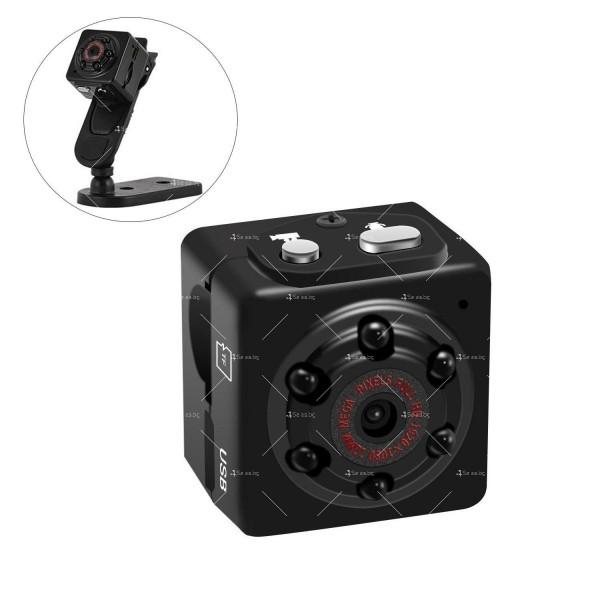 Портативна мини камера с 1080Р резолюция и подобрени нощни снимки SC14 4