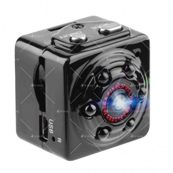 Портативна мини камера с 1080Р резолюция и подобрени нощни снимки SC14 8