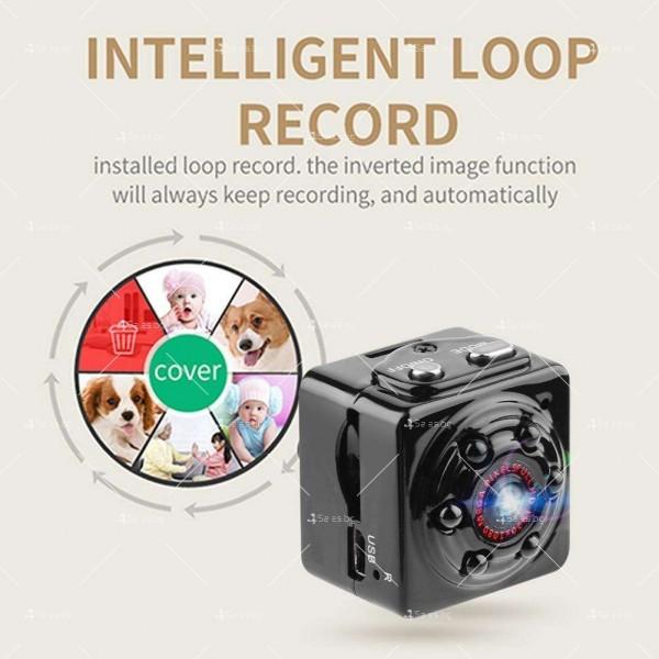 Портативна мини камера с 1080Р резолюция и подобрени нощни снимки SC14 10