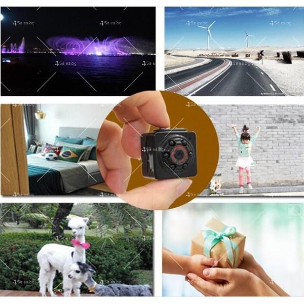 Портативна мини камера с 1080Р резолюция и подобрени нощни снимки SC14 14