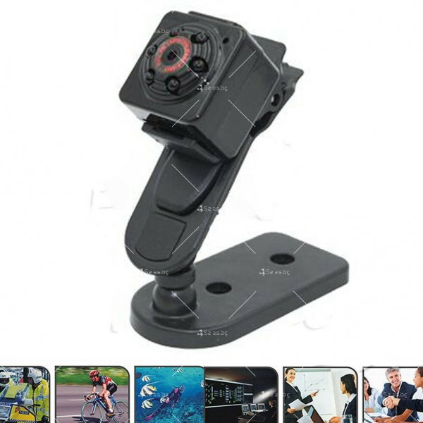 Портативна мини камера с 1080Р резолюция и подобрени нощни снимки SC14 16