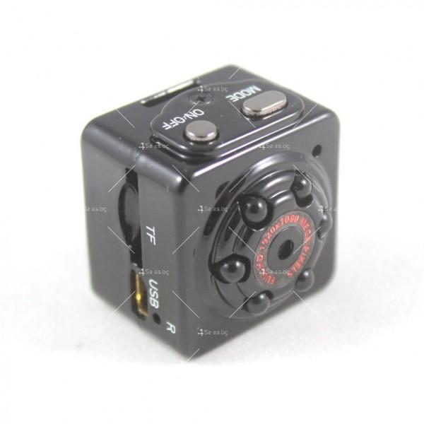 Портативна мини камера с 1080Р резолюция и подобрени нощни снимки SC14 17