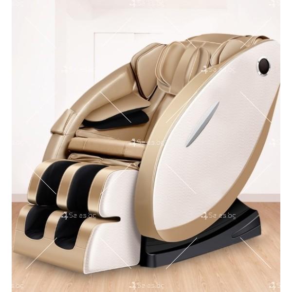 Луксозен масажен стол с ефект на космическа капсула KM868 1