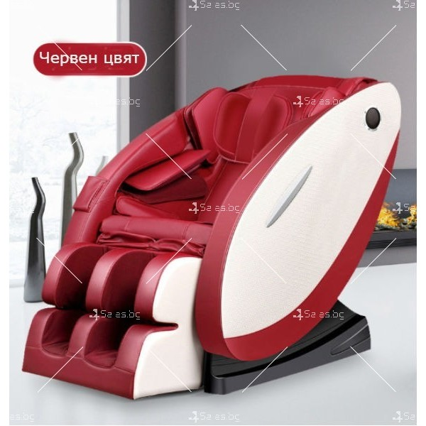 Луксозен масажен стол с ефект на космическа капсула KM868 3