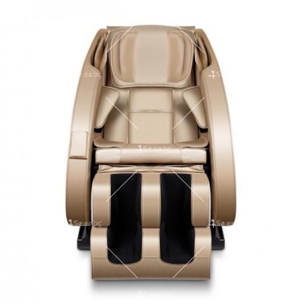 Луксозен масажен стол с ефект на космическа капсула KM868 14