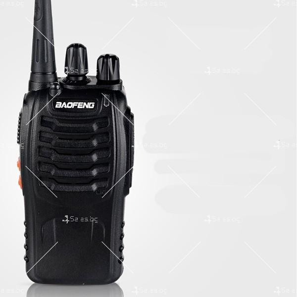 Компактно уоки-токи BF-888S радиостанция, с 16 канала, устойчиво на вода и удар 1