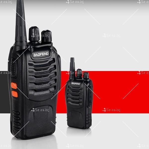 Компактно уоки-токи BF-888S радиостанция, с 16 канала, устойчиво на вода и удар 2