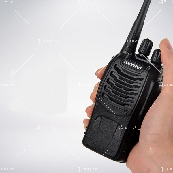 Компактно уоки-токи BF-888S радиостанция, с 16 канала, устойчиво на вода и удар