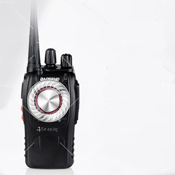 Компактно уоки-токи BF-888S радиостанция, с 16 канала, устойчиво на вода и удар 6