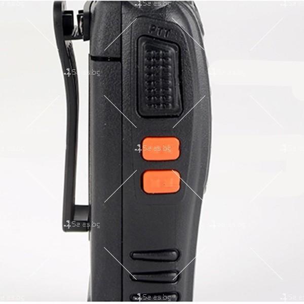 Компактно уоки-токи BF-888S радиостанция, с 16 канала, устойчиво на вода и удар 10