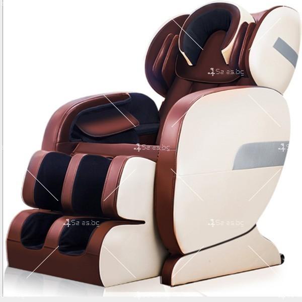 Удобен мултифункционален масажен стол с накланяне в хоризонтално положение KM858A