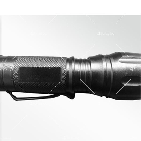Фенерче Т6 (GD-188) , телескопично, светодиодно, с алуминиев корпус FL25 6