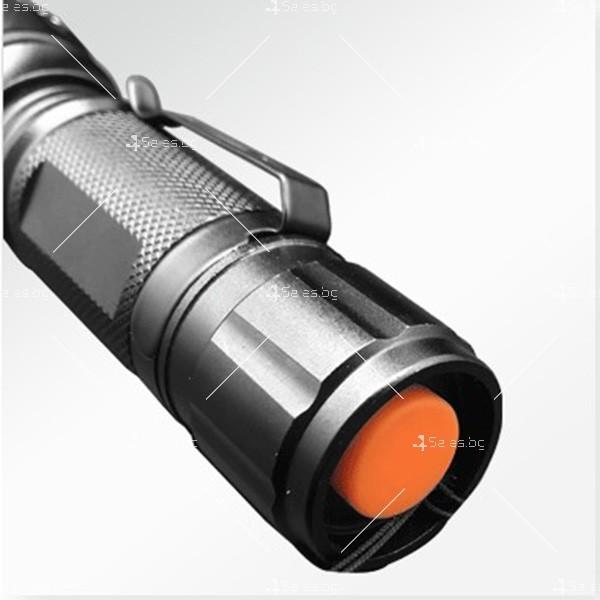 Фенерче Т6 (GD-188) , телескопично, светодиодно, с алуминиев корпус FL25 7