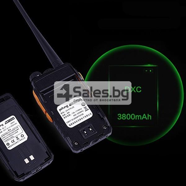 Уоки Токи за връзка при големи разстояния и с висока мощност BF UV-6 PLUS 4