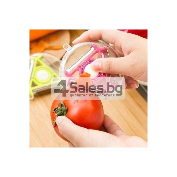 Многофункционална белачка за плодове и зеленчуци 3 в 1 TV145 12