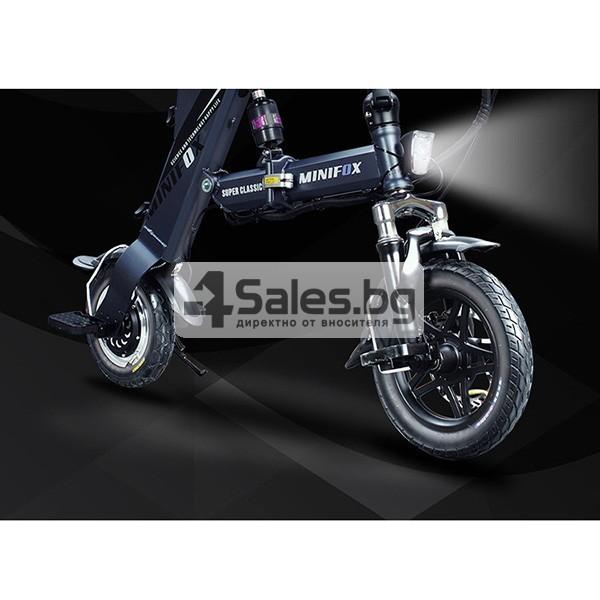 Сгъваем електрически велосипед C1 в три варианта BIKE-1 12 inch 6