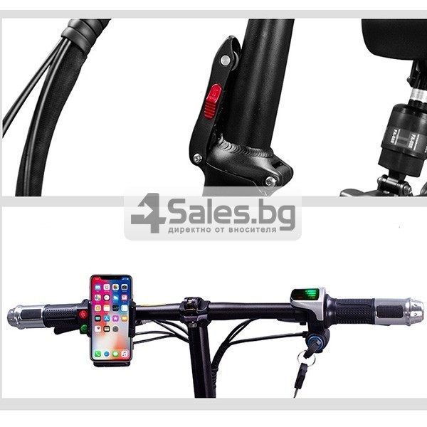 Сгъваем електрически велосипед C1 в три варианта BIKE-1 12 inch 13