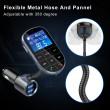 Bluetooth трансмитер за кола с голям екран, MP3, FM, USB, хендсфри, зарядно HF32 9