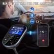 Bluetooth трансмитер за кола с голям екран, MP3, FM, USB, хендсфри, зарядно HF32 11