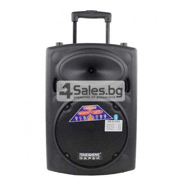 Преносима караоке колона с еквалайзер, радио и USB порт Temeisheng DP - 107 S 5