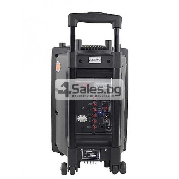 Преносима караоке колона с еквалайзер, радио и USB порт Temeisheng DP - 107 S 6