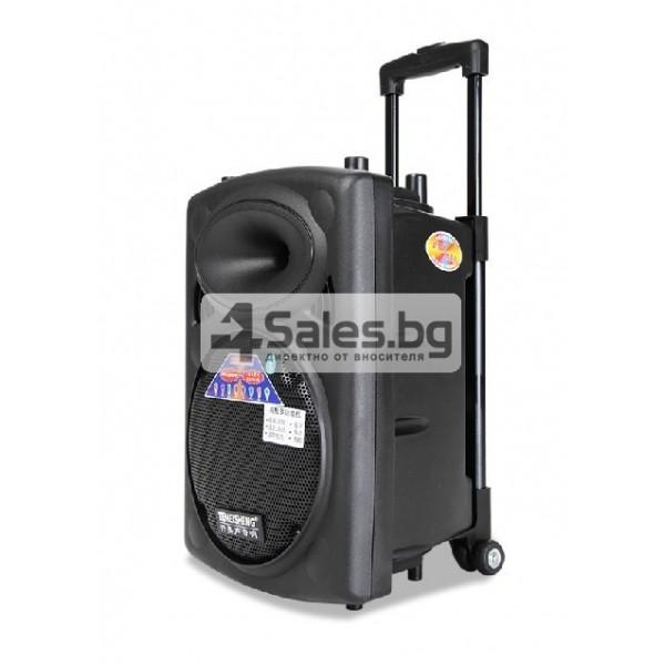 Преносима караоке колона с еквалайзер, радио и USB порт Temeisheng DP - 107 S