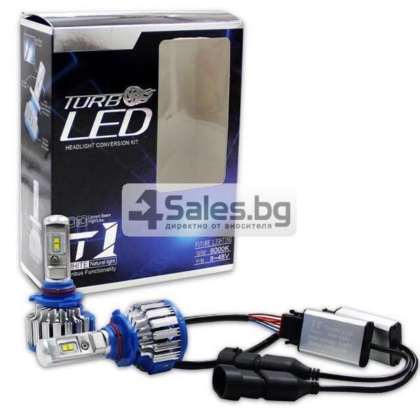 Автомобилни лед светлини против мъгла тип H4 с преобразувател Т1 CAR LED14 1